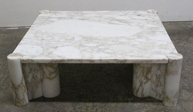 میز تمام سنگ مرمر